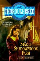 Star Of Shadowbrook Farm