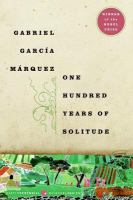 Cover of One Hundred Years of Solit
