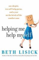 Helping Me Help Myself