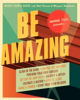 Cover of Mental_floss Presents Be Amazing