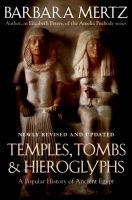 Temples, Tombs & and Hieroglyphs