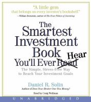 The Smartest Investment Book You'll Ever Hear