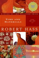 Time and materials:poems, 1997-2005