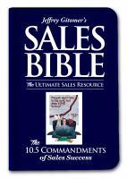 Jeffrey Gitomer's Sales Bible
