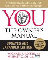 You the owners manual