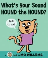 What's Your Sound Hound the Hound book cover