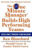 The One Minute Manager Builds High Performing Teams