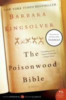 The Poisonwood Bible - Kingsolver, Barbara