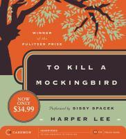 To Kill A Mockingbird (CD)