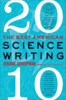The Best American Science Writing, 2010