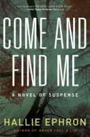 Come and Find Me