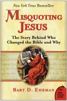 Misquoting Jesus