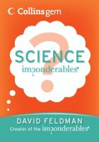 Science Imponderables