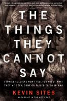 The Things They Cannot Say