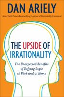 The Upside of Irrationality book cover