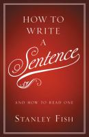 How to Write A Sentence