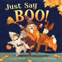 just say boo book cover