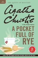 A pocket full of rye : a Miss Marple mystery