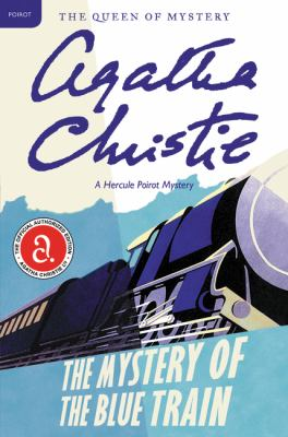 Cover image for The Mystery of the Blue Train