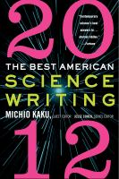 The Best American Science Writing, 2012