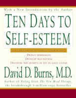 Ten Days to Self-esteem