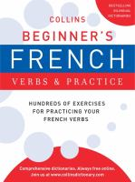 Collins Beginner's French Verbs & Practice