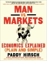 Man Vs. Markets