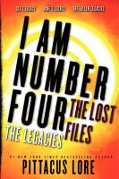 I Am Number Four, the Lost Files