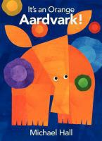 It's An Orange Aardvark!