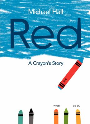 Red: A Crayon's Story(book-cover)