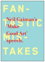 The Make Good Art Speech