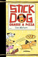Image: Stick Dog Chases A Pizza