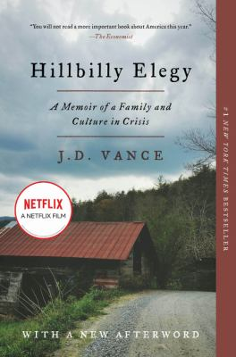 Vance Book club in a bag. Hillbilly elegy a memoir of a family and culture in crisis.
