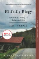Hillbilly Elegy: A Memoir of a Family and Culture in Crisis- Debut