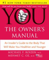 You-- the Owner's Manual