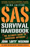SAS survival handbook : the ultimate guide to surviving anywhere