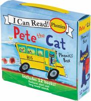 Pete the cat, the bus stop : book 4, short o