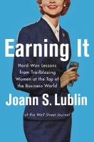Earning It book cover