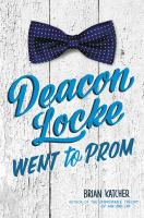 Image: Deacon Locke Went to Prom