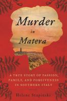 Murder in Matera