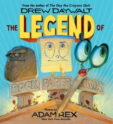 The Legend of Rock, Paper, Scissors book jacket