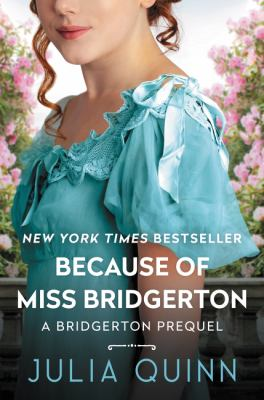 Cover image for Because of Miss Bridgerton