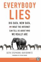 Media Cover for Everybody Lies [large print]