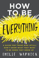 Image: How to Be Everything