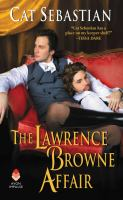THE LAWERENCE BROWNE AFFAIR