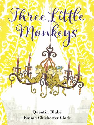 Cover image for Three Little Monkeys