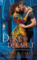 Cover of A Duke By Default