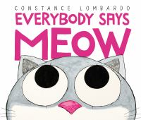 everybody says meow book cover