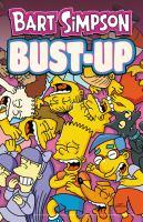 Bart Simpson. Bust-up