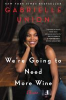 Cover of We're Going to Need More W